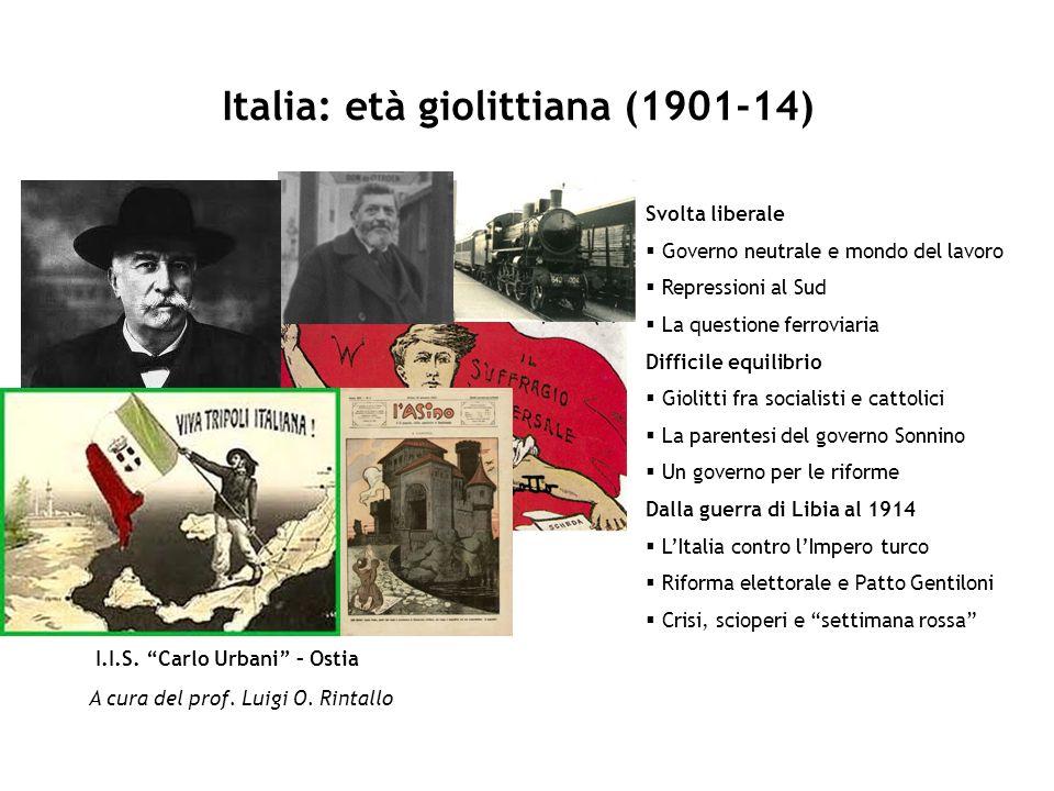 Italia: età giolittiana (1901-14)