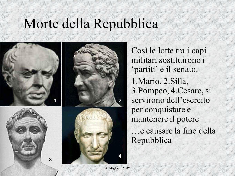Morte della Repubblica