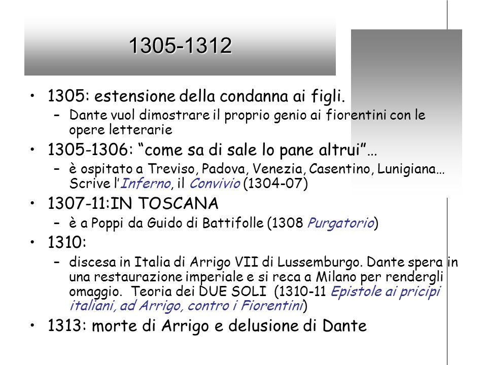 1305-1312 1305: estensione della condanna ai figli.