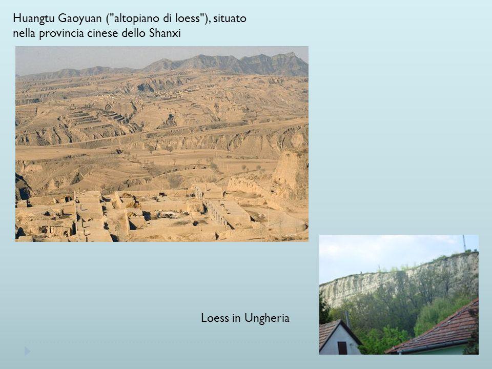 Huangtu Gaoyuan ( altopiano di loess ), situato nella provincia cinese dello Shanxi