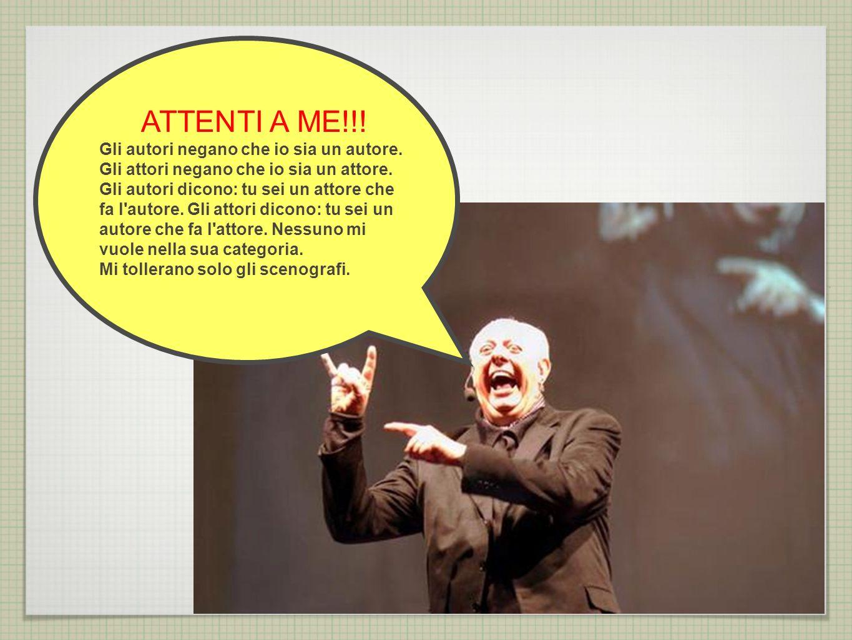 ATTENTI A ME!!!