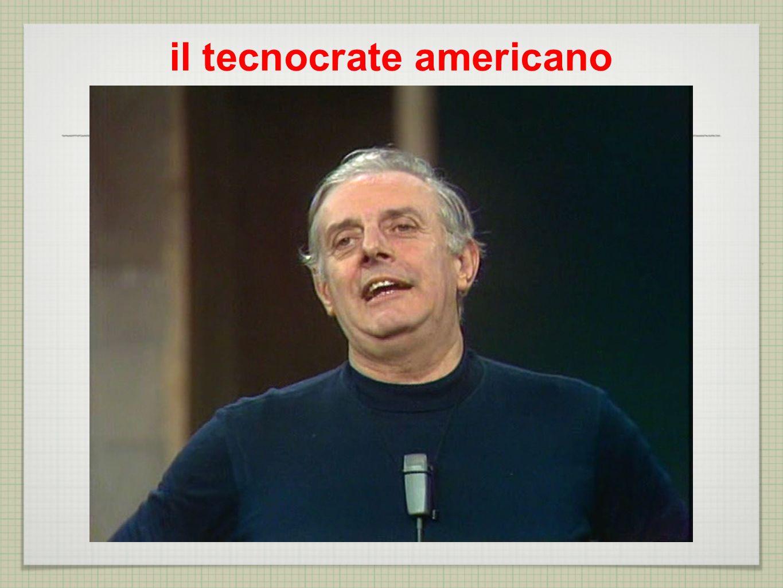 il tecnocrate americano