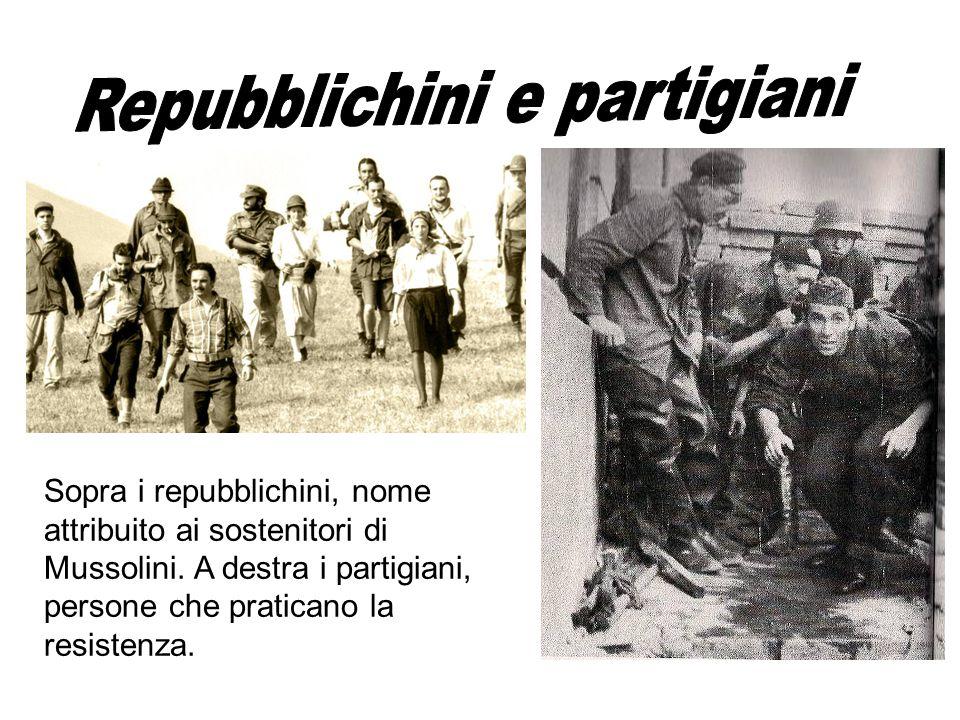 Repubblichini e partigiani