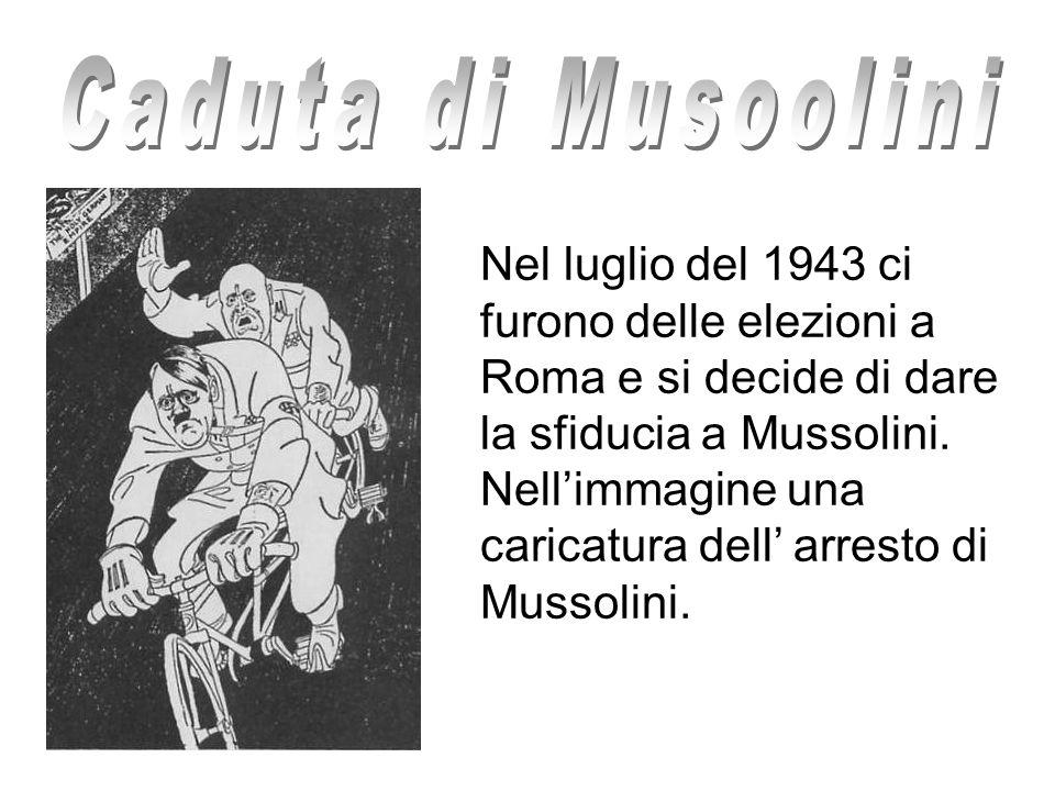 Caduta di Musoolini