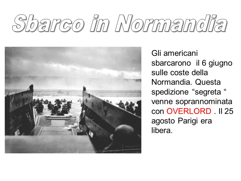 Sbarco in Normandia