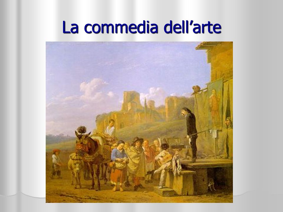 La commedia dell'arte