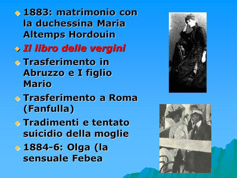 1883: matrimonio con la duchessina Maria Altemps Hordouin