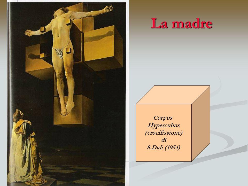 La madre Corpus Hypercubus (crocifissione) di S.Dalì (1954)