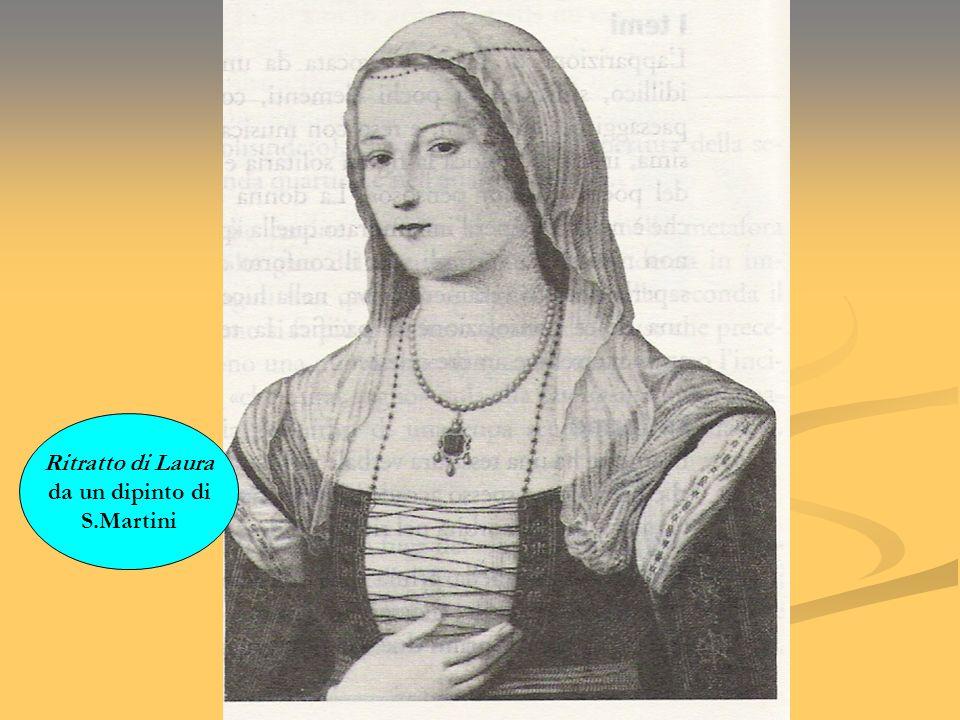 Ritratto di Laura da un dipinto di S.Martini