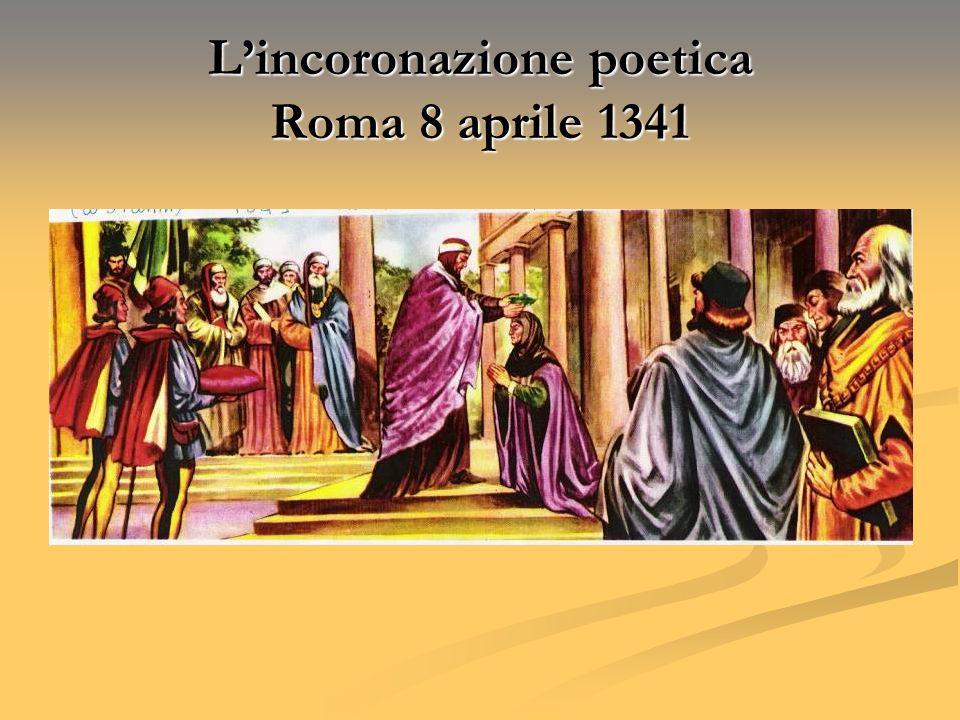 L'incoronazione poetica Roma 8 aprile 1341