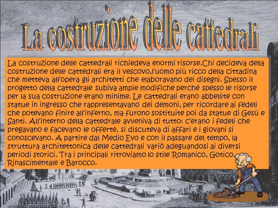 La costruzione delle cattedrali