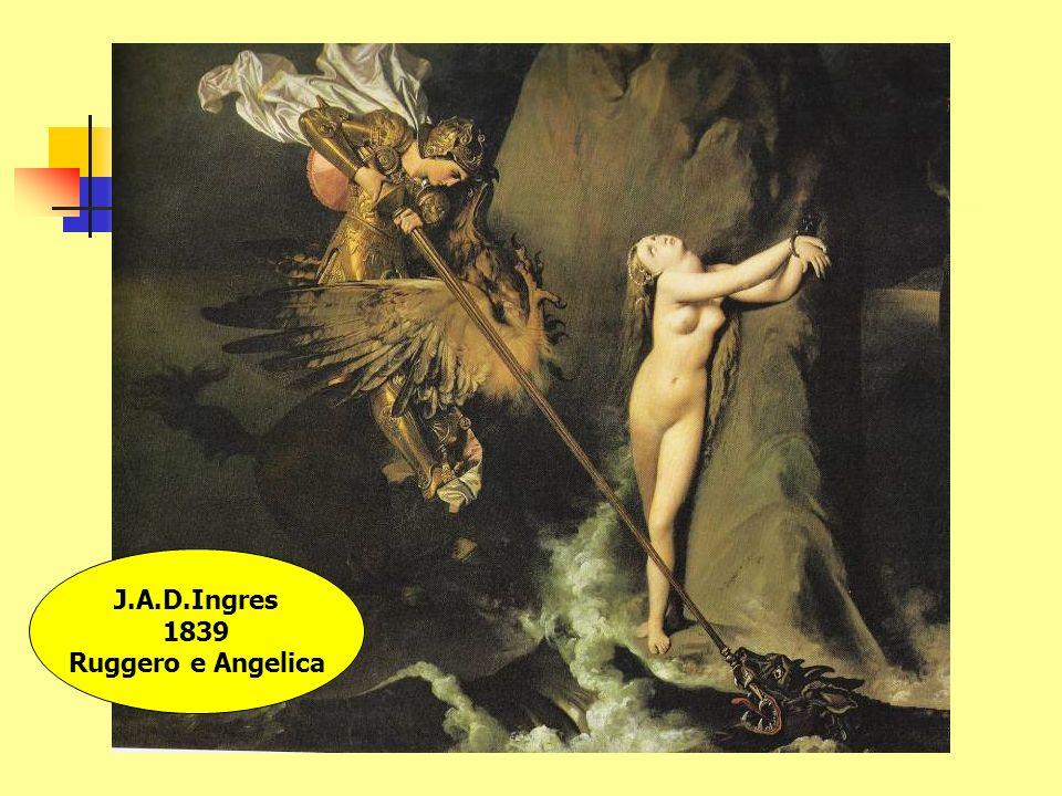 J.A.D.Ingres 1839 Ruggero e Angelica