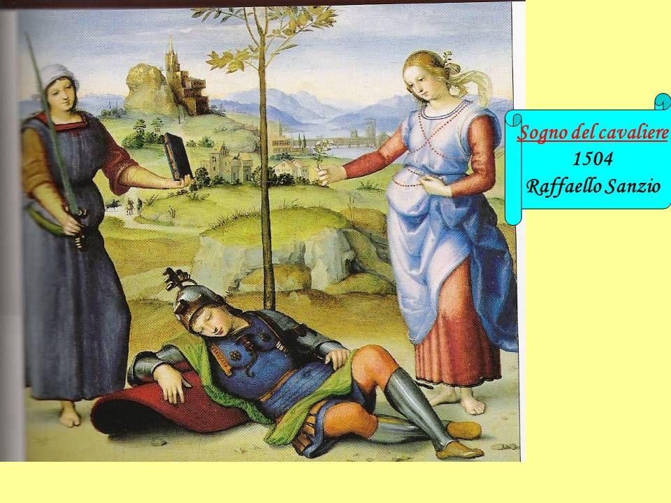 Sogno del cavaliere 1504 Raffaello Sanzio