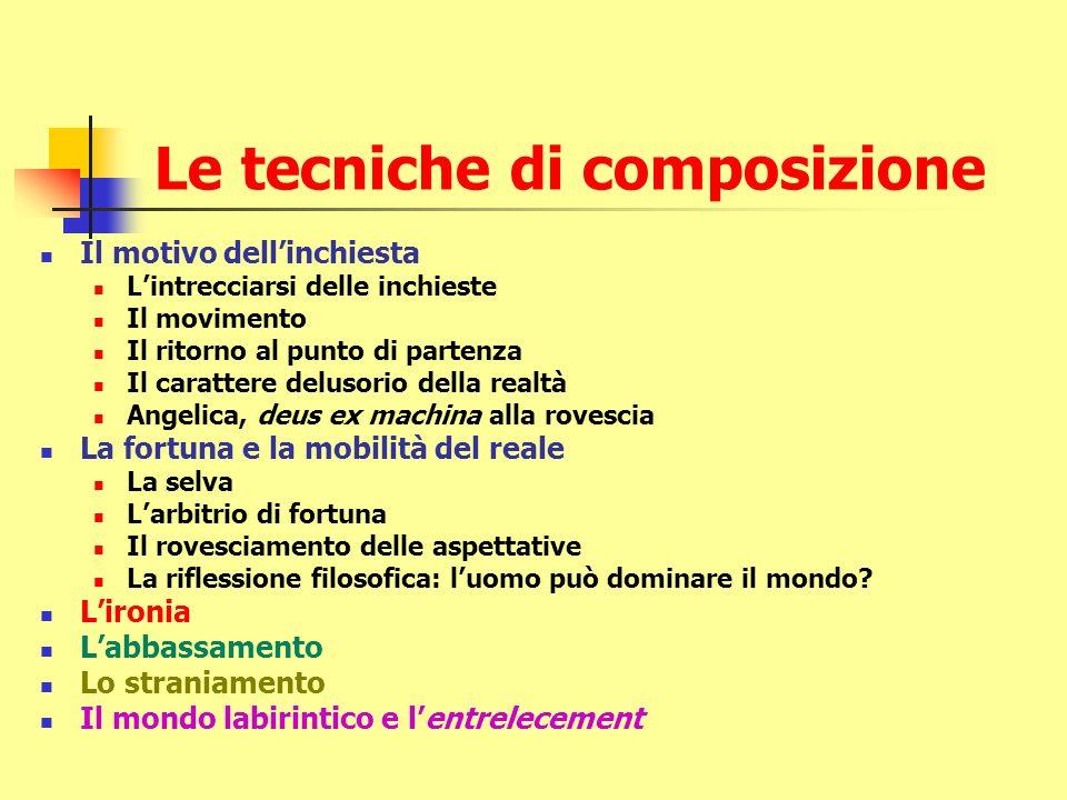 Le tecniche di composizione