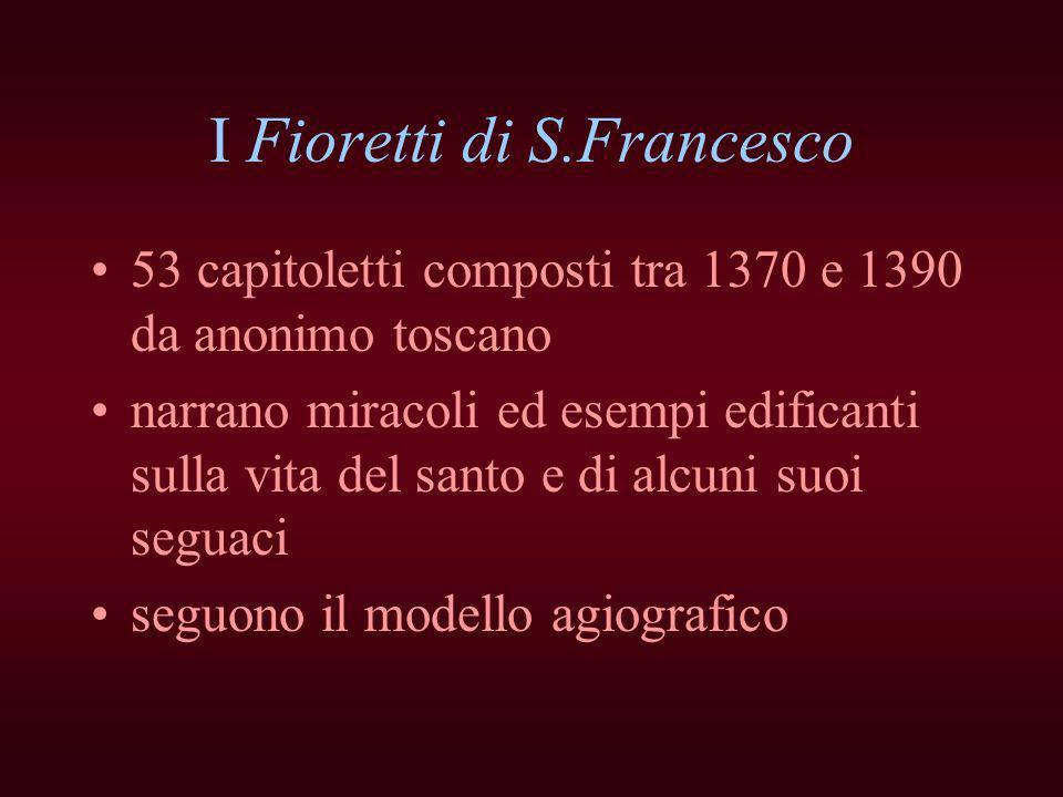 I Fioretti di S.Francesco