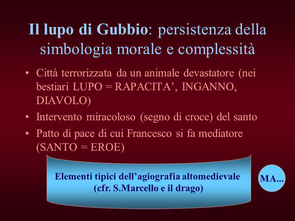 Il lupo di Gubbio: persistenza della simbologia morale e complessità