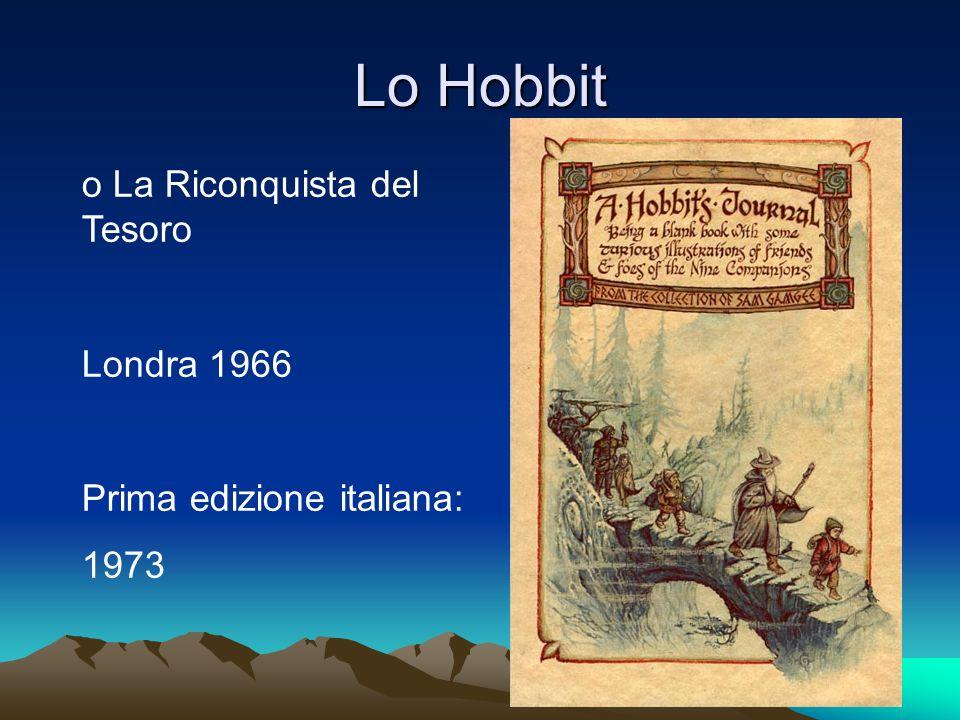 Lo Hobbit o La Riconquista del Tesoro Londra 1966