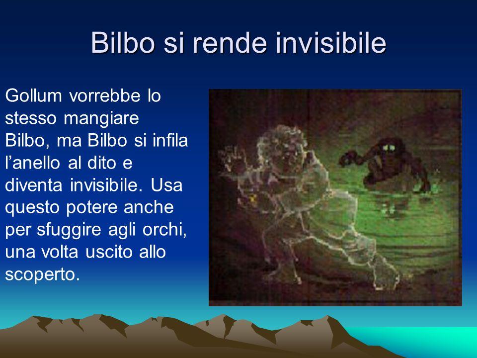 Bilbo si rende invisibile
