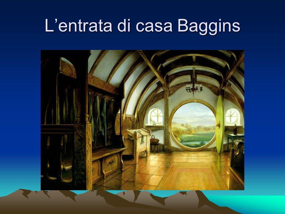 L'entrata di casa Baggins