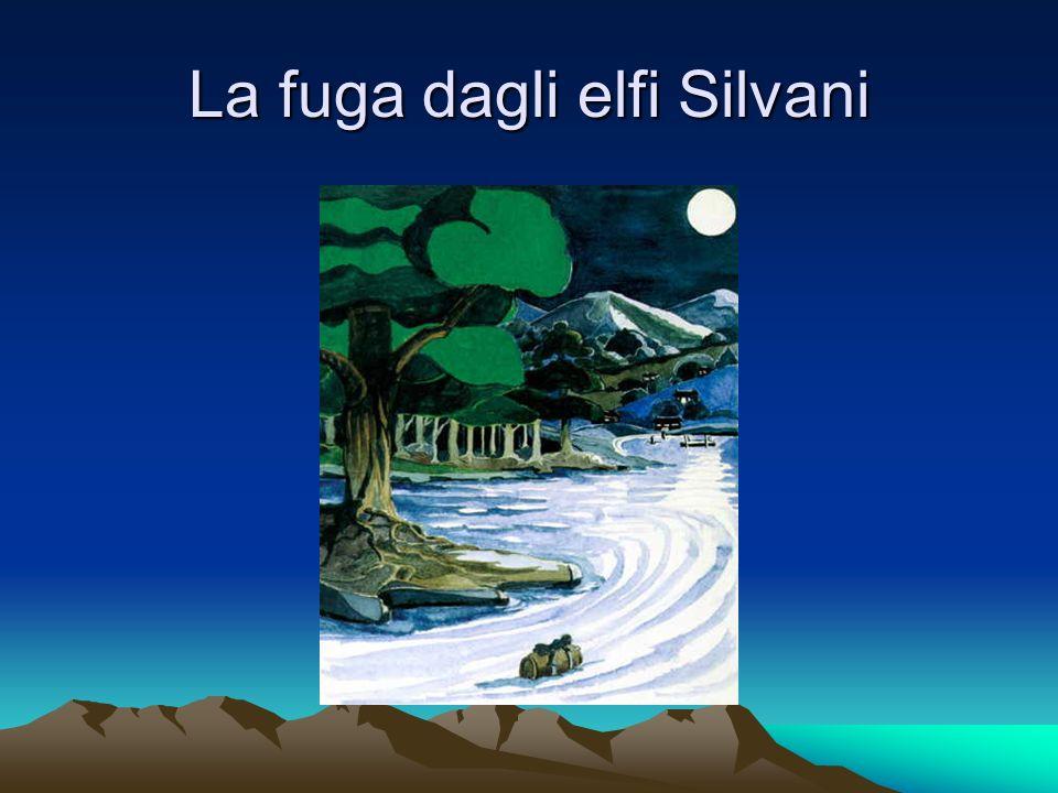 La fuga dagli elfi Silvani
