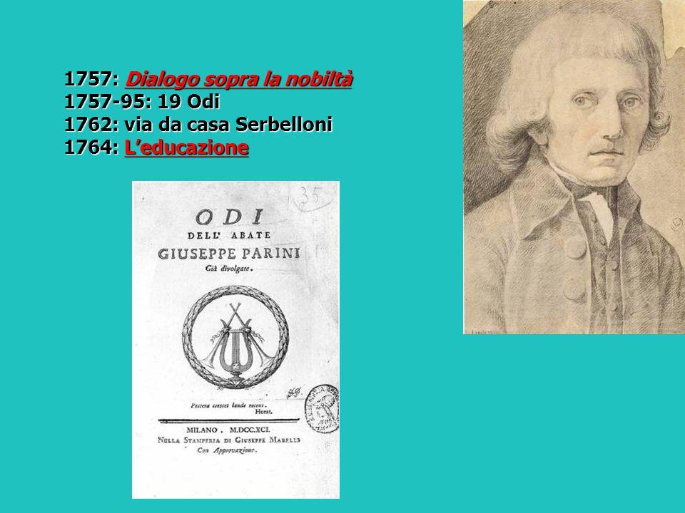 1757: Dialogo sopra la nobiltà
