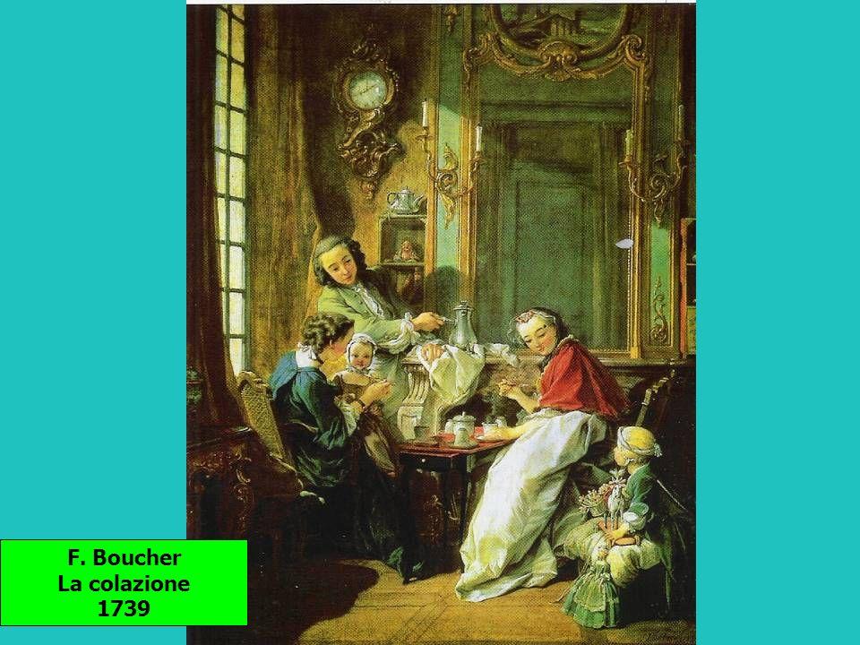 F. Boucher La colazione 1739