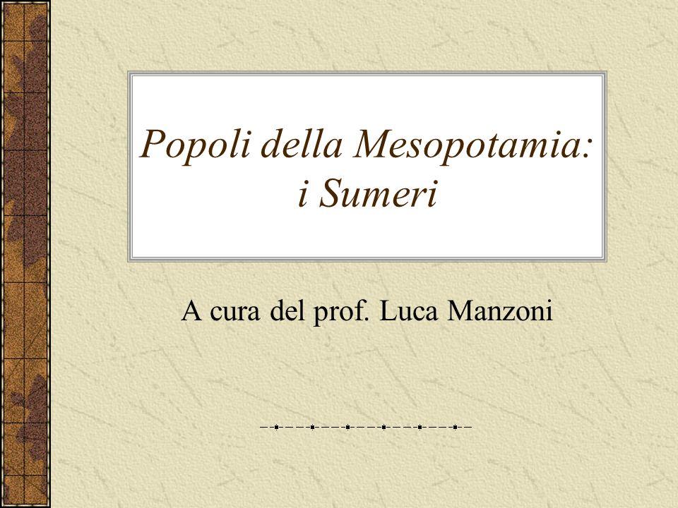 Popoli della Mesopotamia: i Sumeri