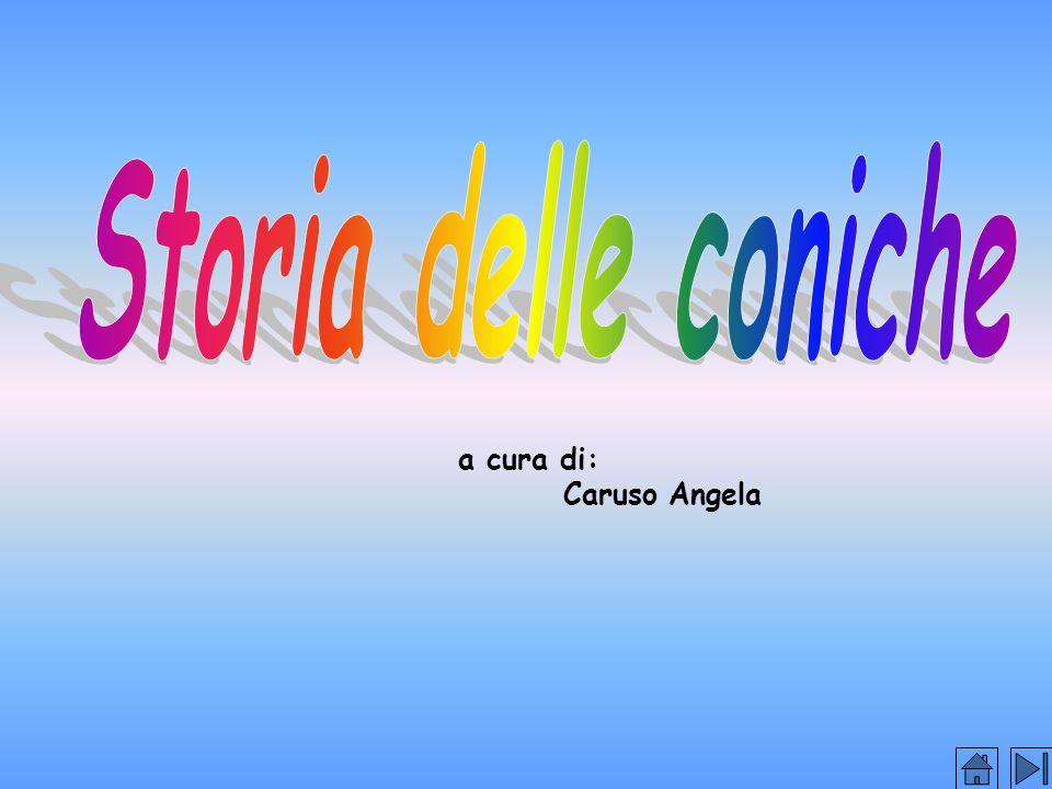 Storia delle coniche a cura di: Caruso Angela