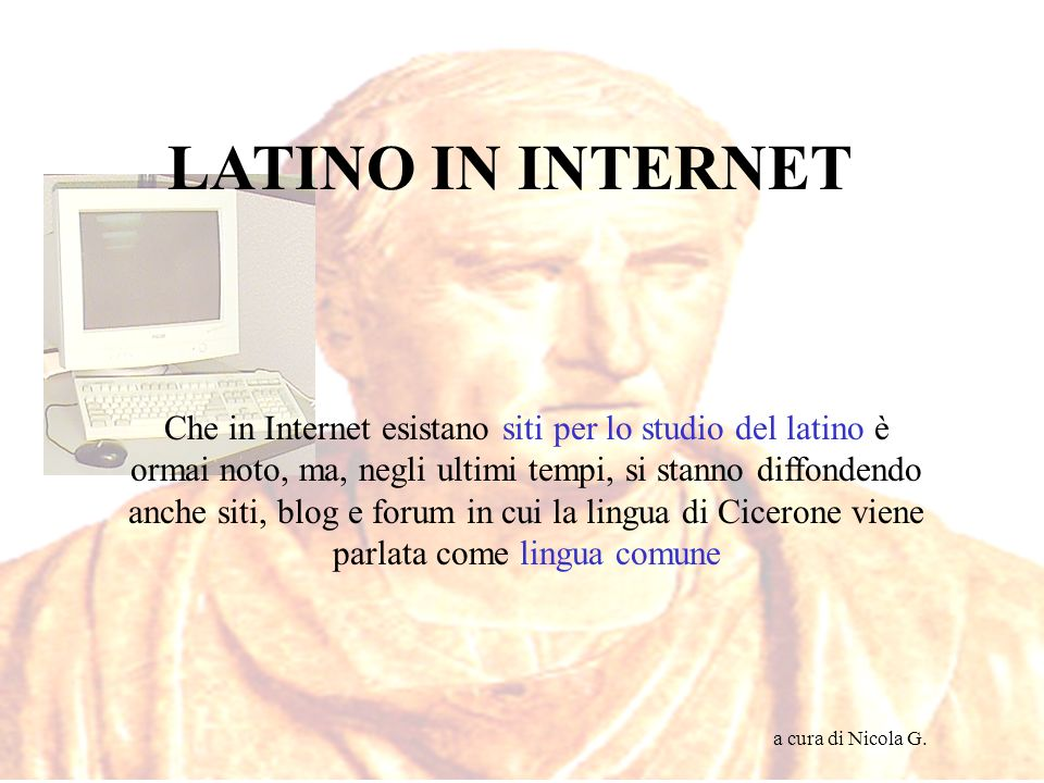 LATINO IN INTERNET