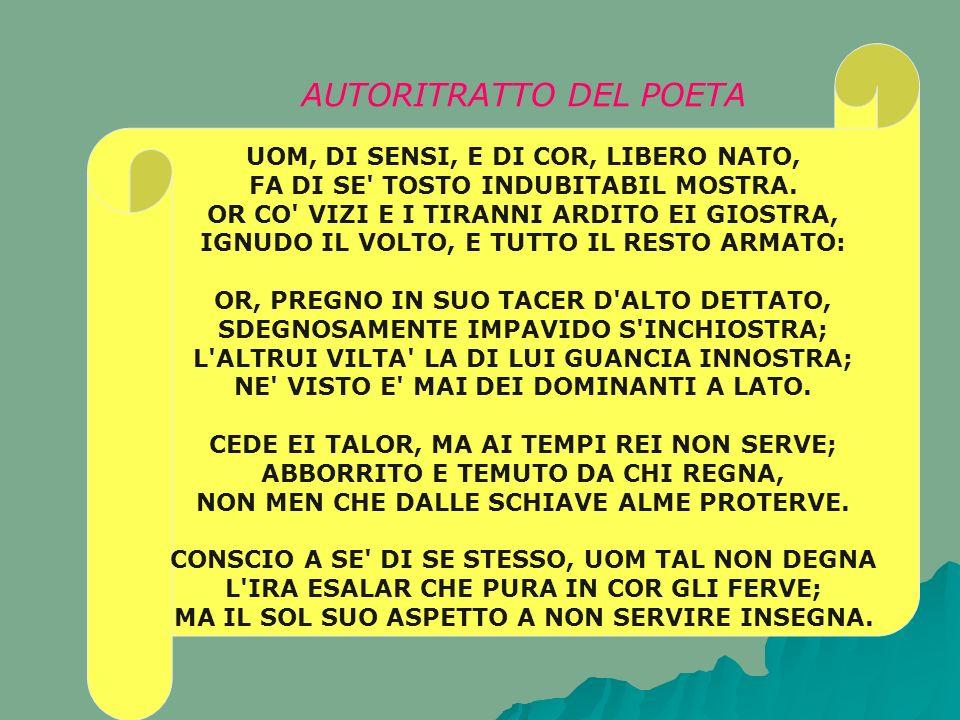 AUTORITRATTO DEL POETA