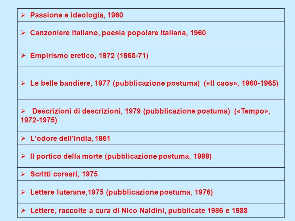 Canzoniere italiano, poesia popolare italiana, 1960