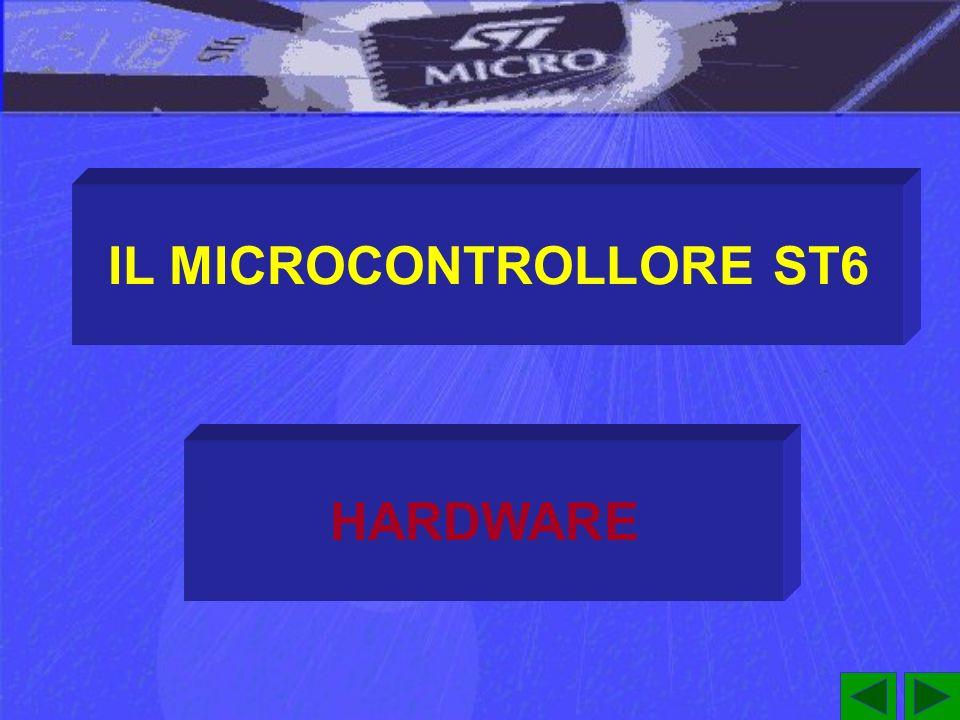 IL MICROCONTROLLORE ST6