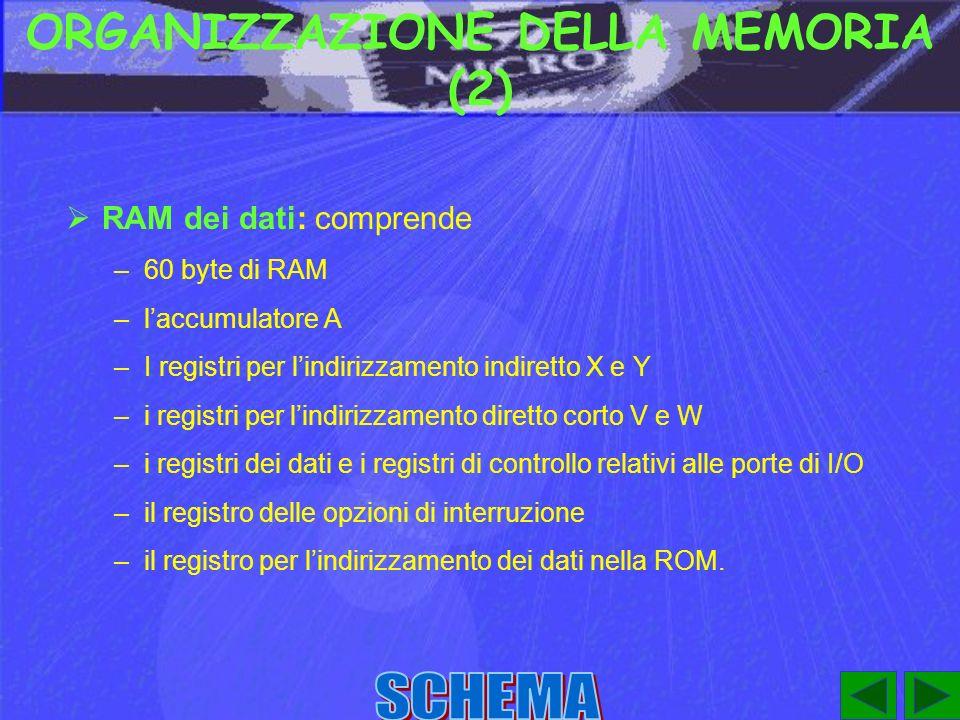 ORGANIZZAZIONE DELLA MEMORIA (2)