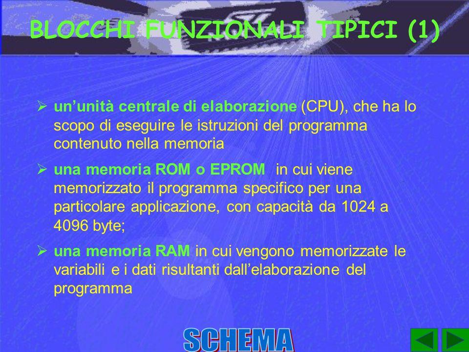 BLOCCHI FUNZIONALI TIPICI (1)