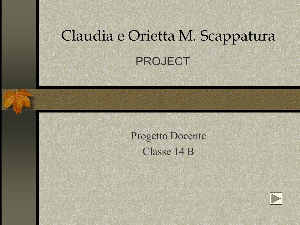 Claudia e Orietta M. Scappatura