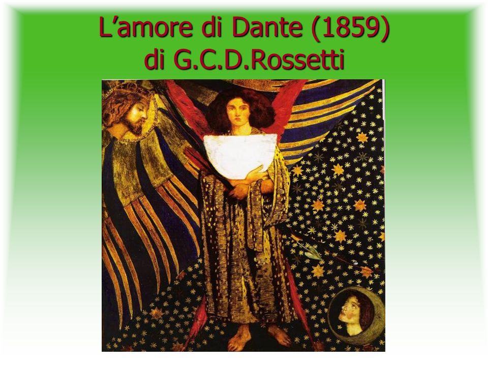 L'amore di Dante (1859) di G.C.D.Rossetti