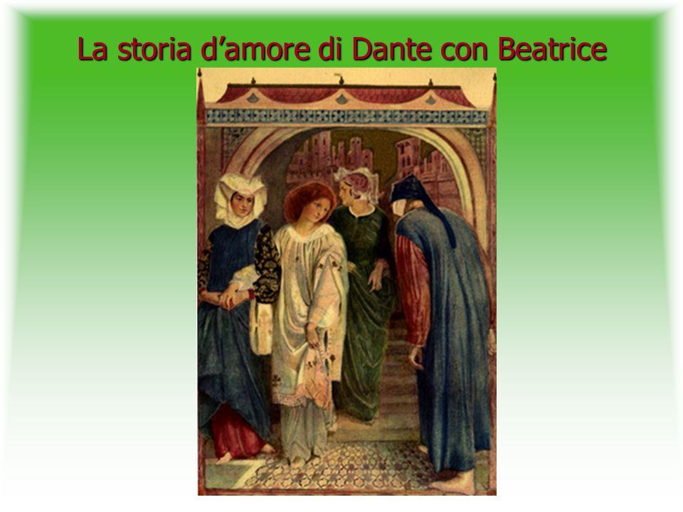 La storia d'amore di Dante con Beatrice