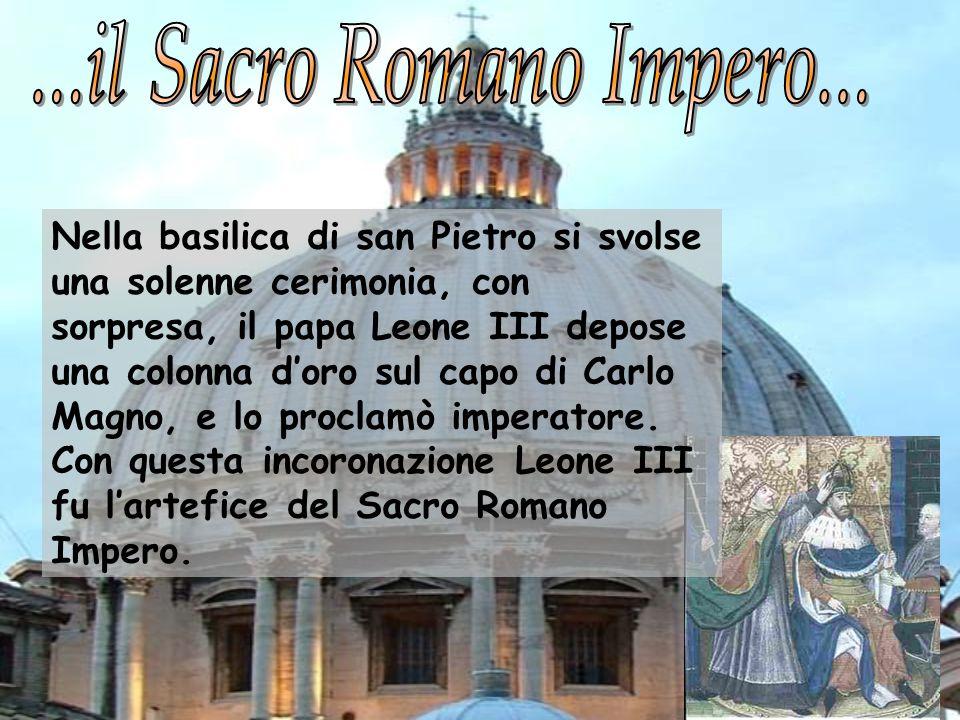 ...il Sacro Romano Impero...