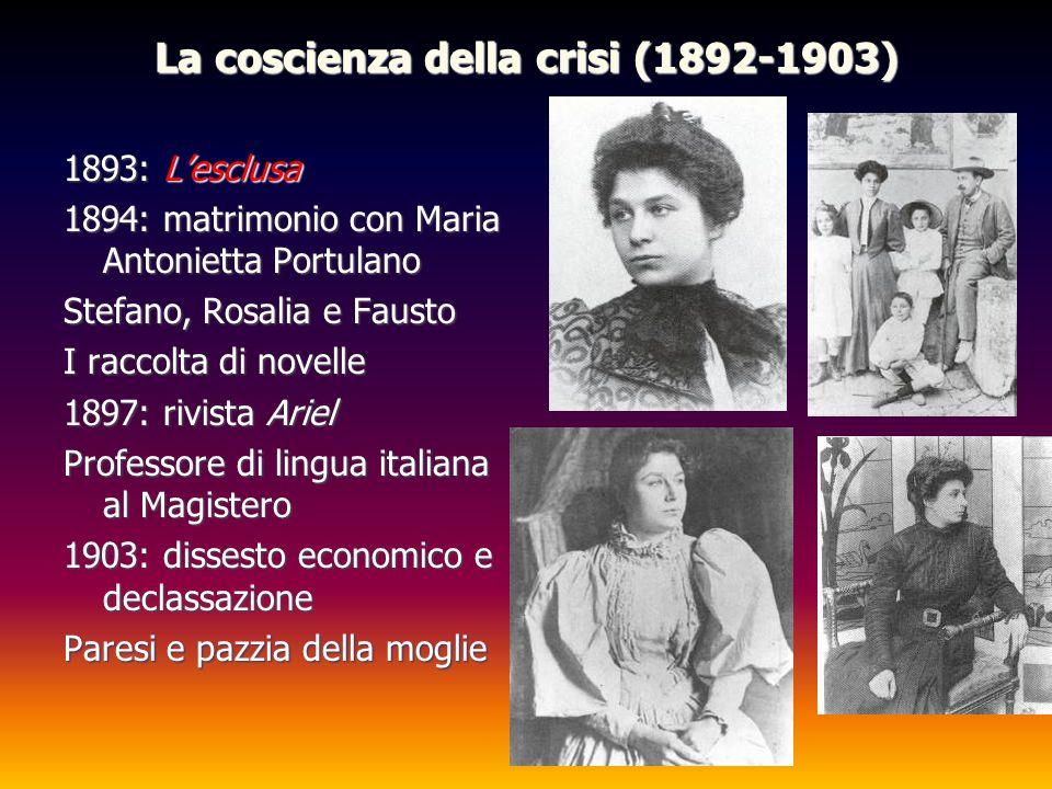 La coscienza della crisi (1892-1903)