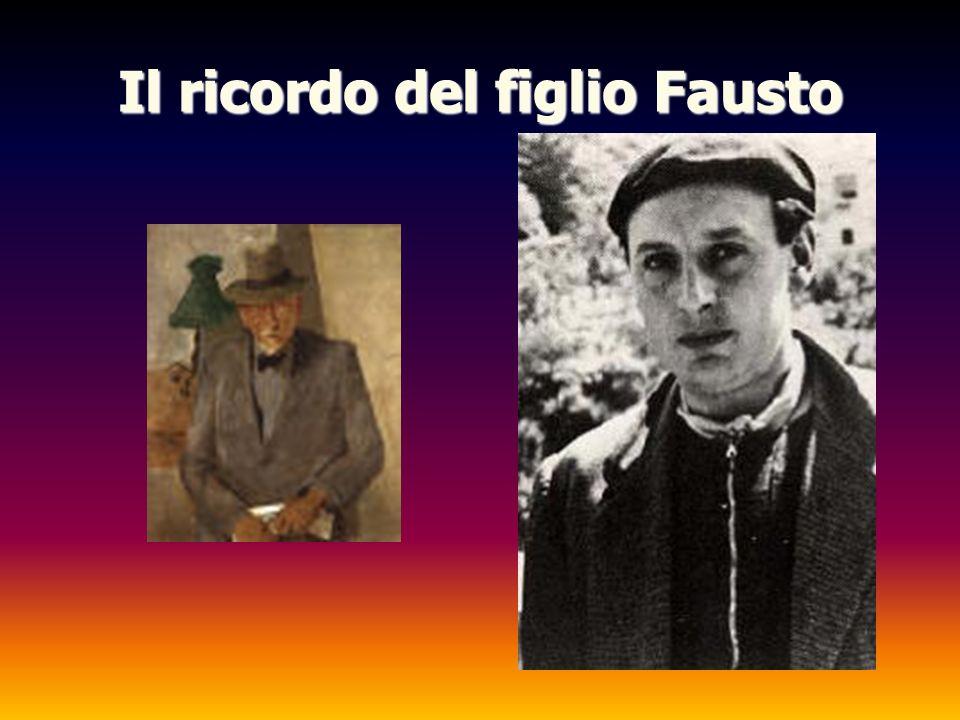 Il ricordo del figlio Fausto