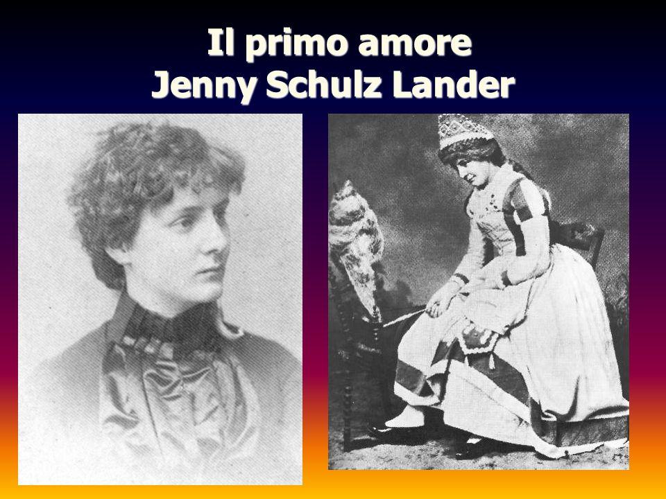 Il primo amore Jenny Schulz Lander