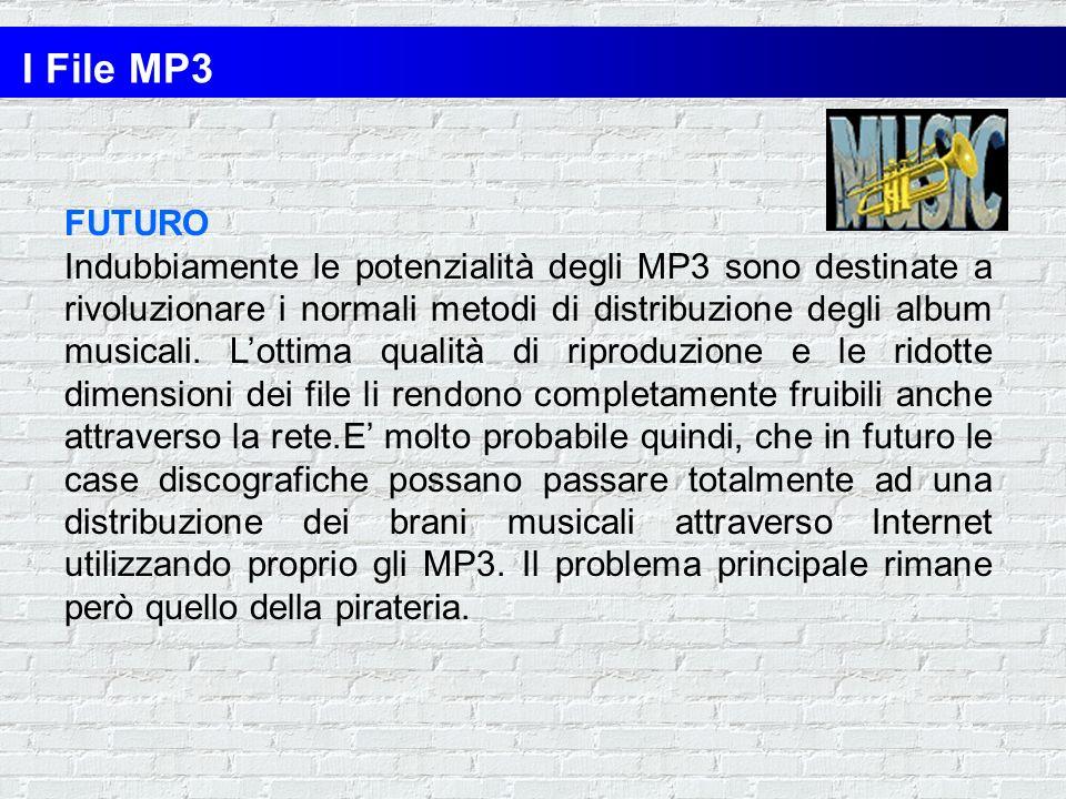 I File MP3 FUTURO.