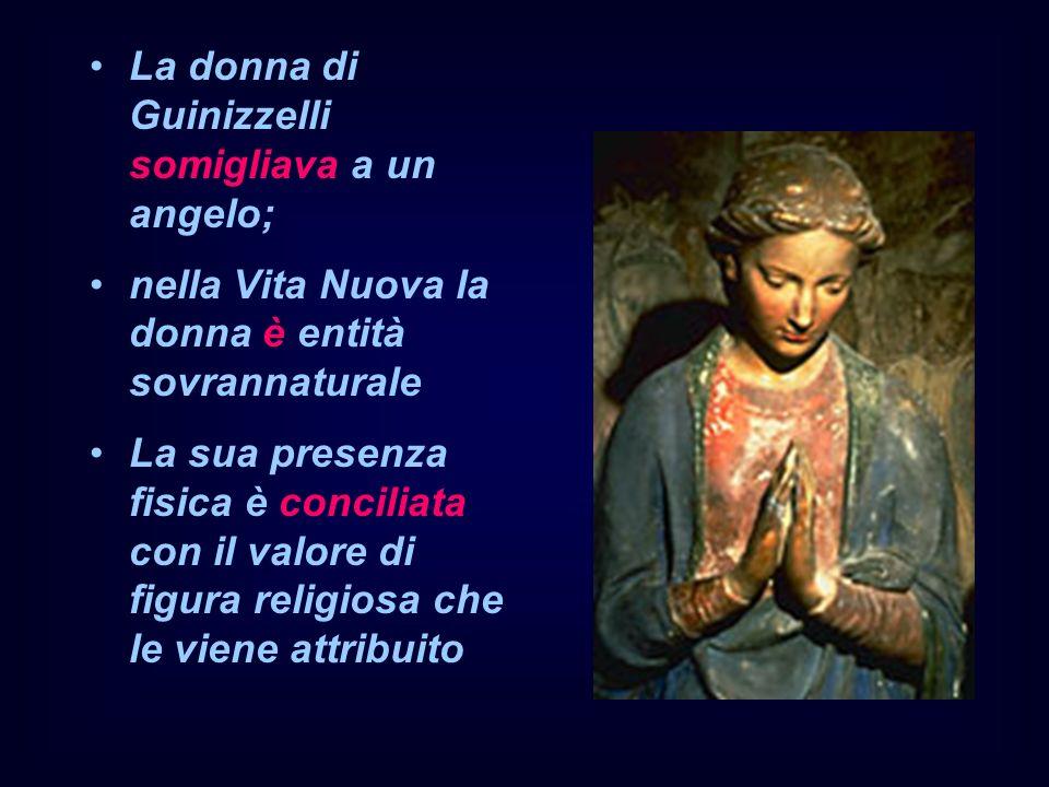 La donna di Guinizzelli somigliava a un angelo;