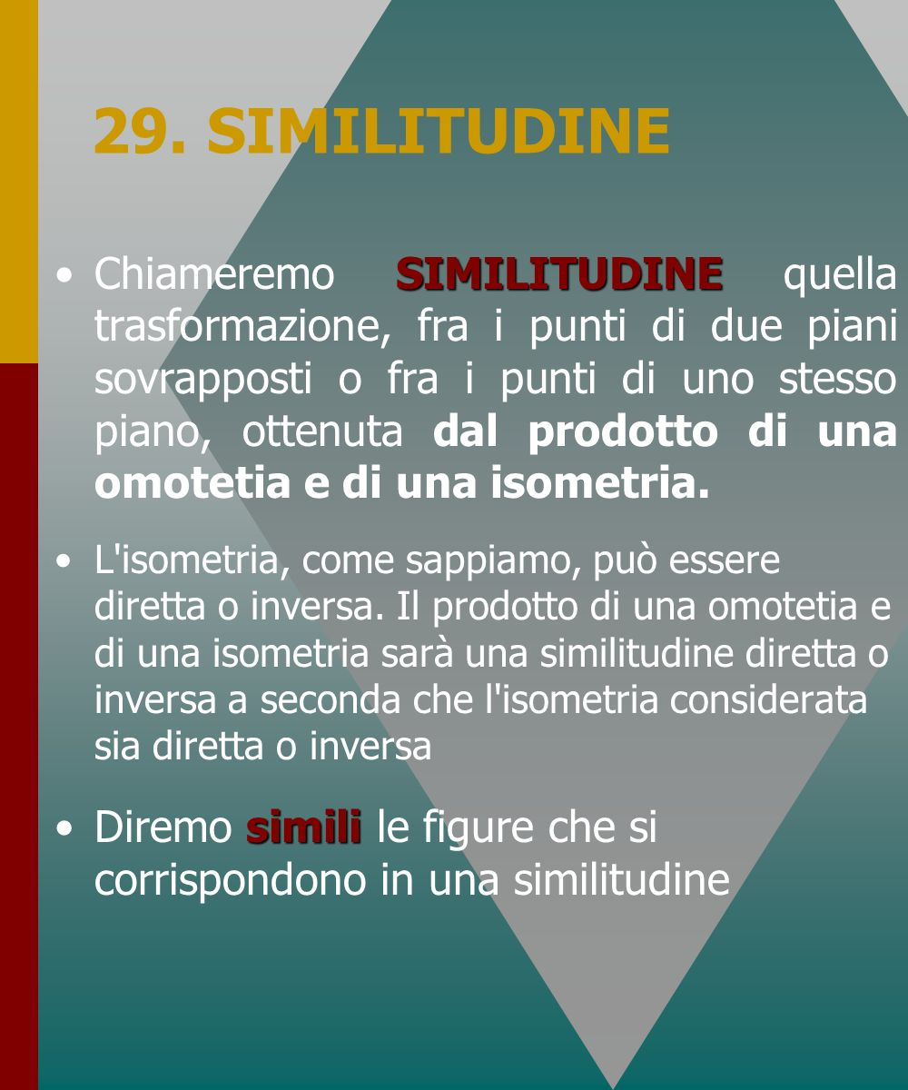 29. SIMILITUDINE