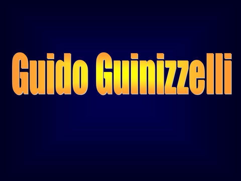 Guido Guinizzelli GUIDO GUINIZZELLI Pg. XXVI, 92 cit. Pg. XI, 97 Cornice VII - Lussuriosi.