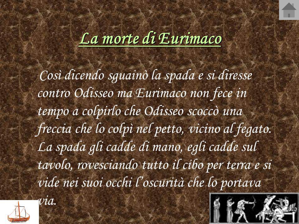 La morte di Eurimaco