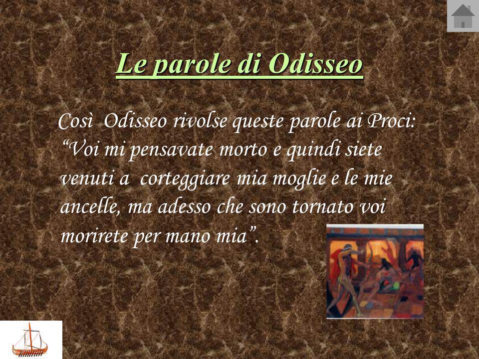 Le parole di Odisseo