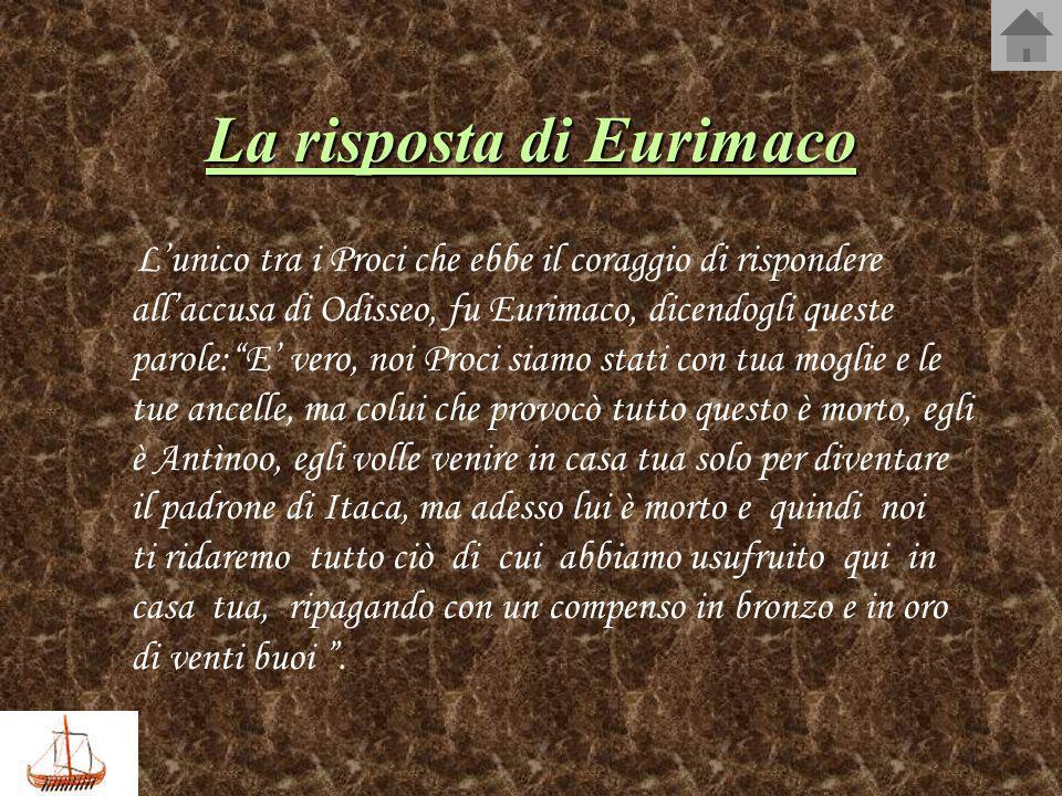 La risposta di Eurimaco