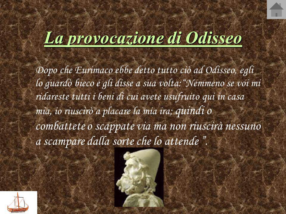 La provocazione di Odisseo