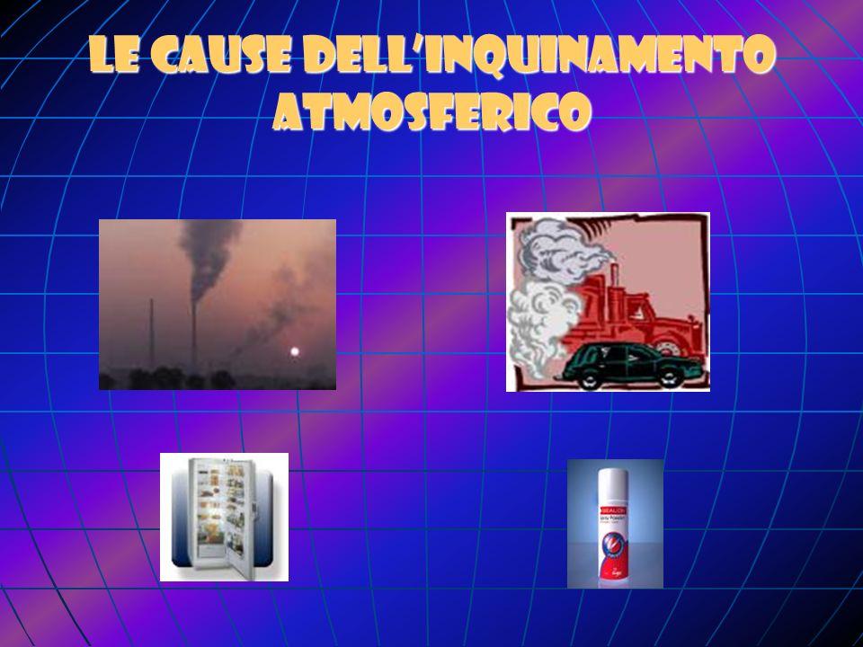 Le cause dell'inquinamento atmosferico